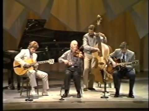 Fascinating Rhythm - Stephane Grappelli, Martin Taylor, Louis Stewart, Jack Sewing. Belfast 1986