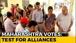 Assembly Elections 2019 - Advantage BJP As Maharashtra, Haryana Vote
