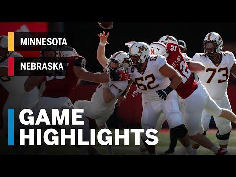 Highlights: Minnesota Golden Gophers vs. Nebraska Cornhuskers | Big Ten Football