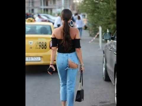 20 смешных фото о моде на рваные джинсы