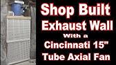 Shop Built Exhaust Wall