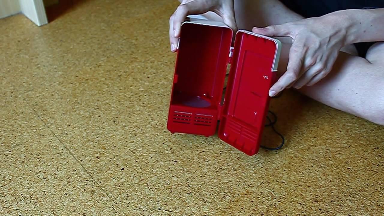 Mini Kühlschrank Mit Akku : Review usb mini kühlschrank youtube