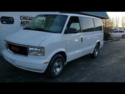 2001 GMC Safari Chevy Astro Van 1 Owner 28k Low Miles For Sale By Chicago Auto Network 8154691999