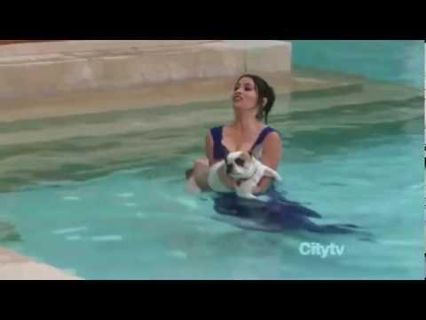 Pool dress wetlook