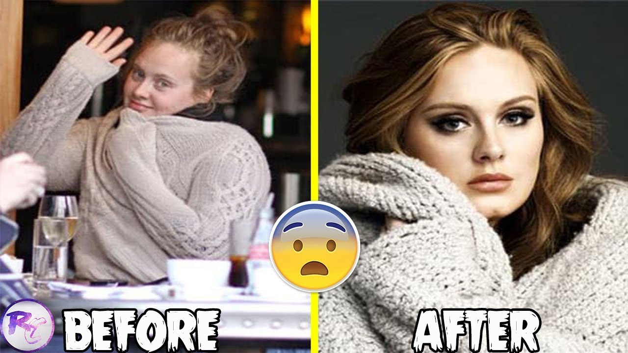 celebrities before & after makeup (with vs without makeup)