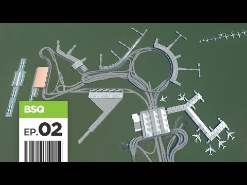 Cities Skylines: FBS International Airport - Part 2 - Realistic Terminals