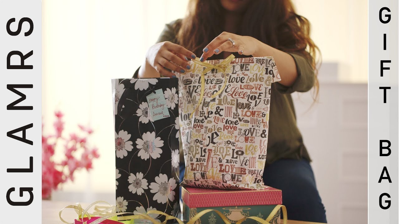 Diy paper bags for gifts easy to make how to make a paper bag diy paper bags for gifts easy to make how to make a paper bag tutorial glamrs baditri Images