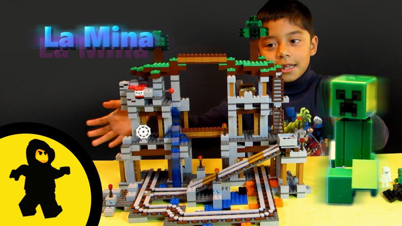 La Mina De Minecraft 21118 Juguetes Lego Youtube