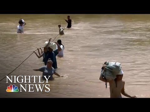 Lack Of Power And Communications Hampering Rescue Efforts | NBC Nightly News