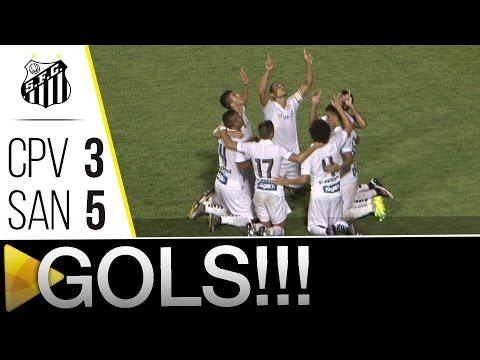 Capivariano 3 x 5 Santos | GOLS | Paulistão (03/04/16)