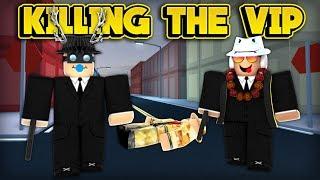 KILLING THE VIP! (ROBLOX Jailbreak)