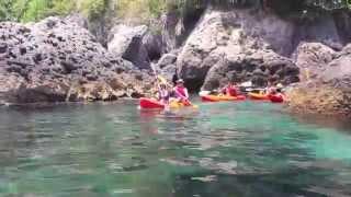 Ruta en Kayak  Maro (Nerja) 2014