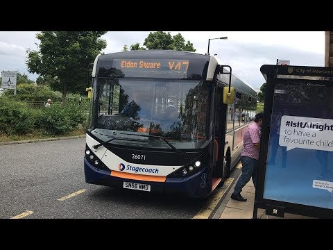 On Stagecoaches X47 From Eldon Square Bus Station To Kingston Park