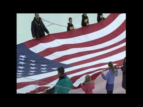 Boscawen Elementary School - U.S. Anthem - February 4, 2017