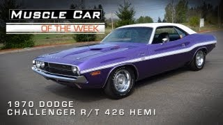 Muscle Car Of The Week Video #10: 1970 Dodge Challenger R/T HEMI