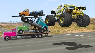 Beamng drive - Car Pyramid Takedown