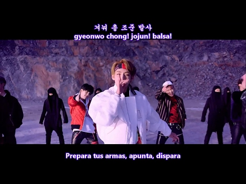 BTS - NOT TODAY MV Sub Español + Hangul + Rom