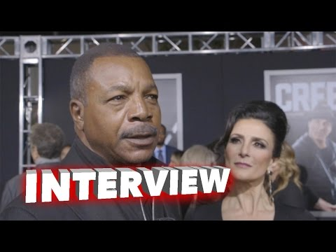 "Creed: Carl Weathers ""Apollo Creed"" Exclusive Premiere Interview"