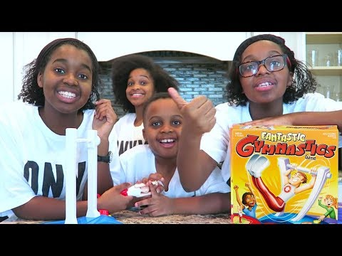 Thumbnail: FANTASTIC GYMNASTICS CHALLENGE!! Losers get BEAN BOOZLED! - Onyx Adventures
