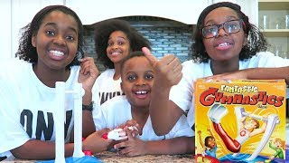 FANTASTIC GYMNASTICS CHALLENGE!! Losers get BEAN BOOZLED! - Onyx Adventures