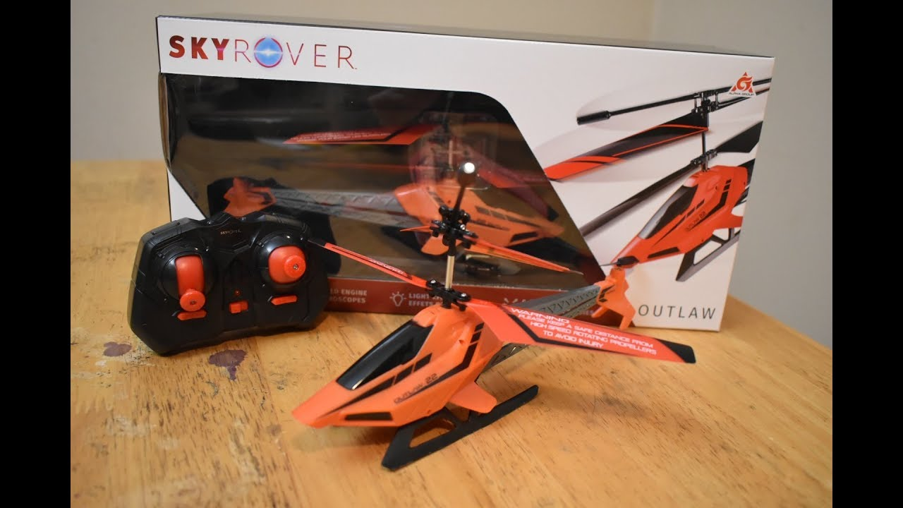 Skyrover Outlaw RC Helicopter   Unboxing, review, and giveaway details
