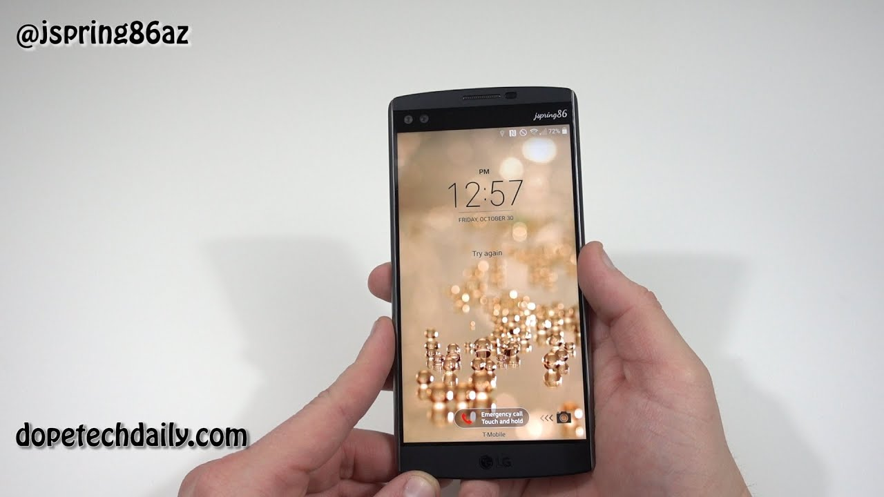 LG V10 Unboxing/Comparison to iPhone6S+/Nexus 6P/Note 5