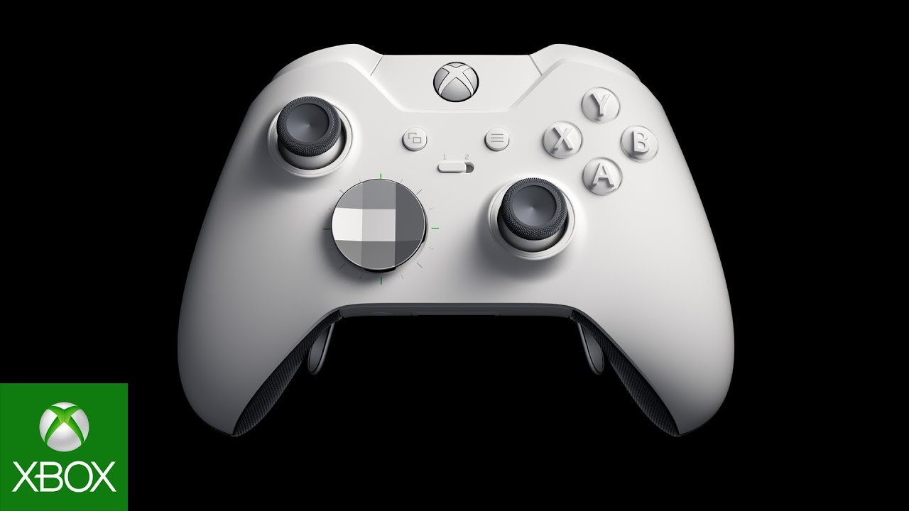 Experience Xbox Elite  Now available in white