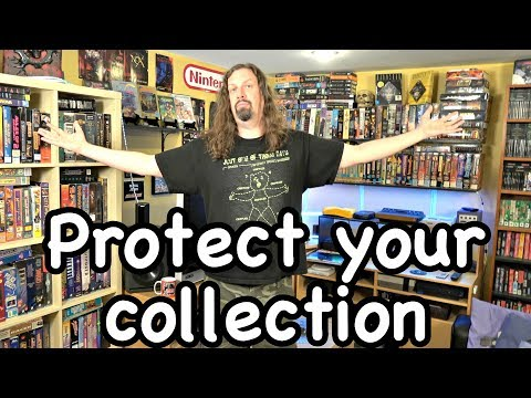 How I PROTECT & INSURE my Game Collection - Metal Jesus