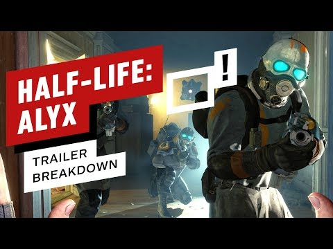 Half-Life: Alyx Trailer Breakdown: All the New Details, Enemies, and Easter Eggs