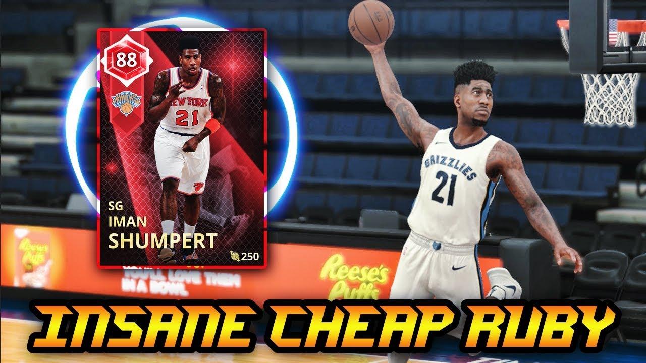 f999fcd53113 NBA 2K18 1K MT RUBY IMAN SHUMPERT IS INSANE!!  95 DUNK