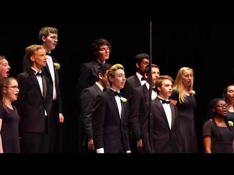 Stephen Costanza II in Webster Schroeder High School Select Choir  2018 song1