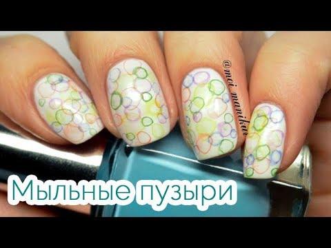 Укрепление ногтей акрилом  (видео уроки дизайна ногтей)