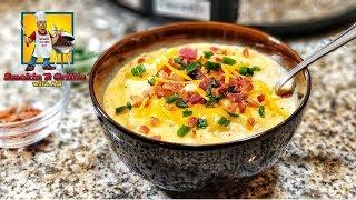 Loaded Baked Potato Soup   Crock Pot Recipes