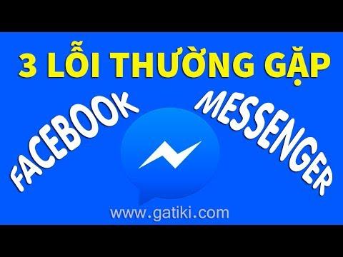 Messenger không gửi được tin nhắn, rất tiếc messenger đã dừng lại, xem tin nhắn bị lọc trên facebook