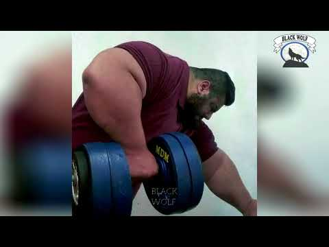 Men You Wont Believe Exist Sajad Gharibi The Iranian Hulk
