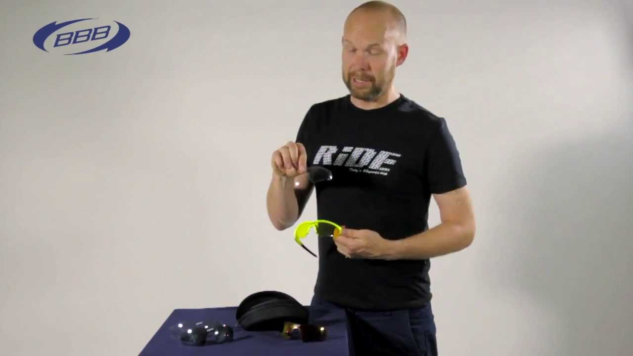 59604af8f23 BBB Cycling tech video  How to replace your Select sport glasses ...