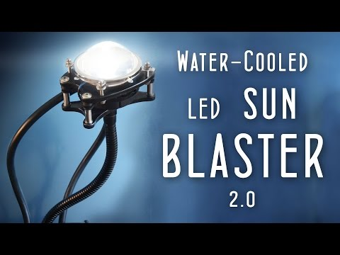 1000w equiv. Watercooled LED (DIY SUN BLASTER 2.0)
