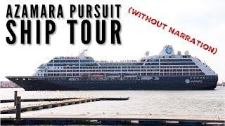 Azamara Pursuit full ship tour (without Narration)