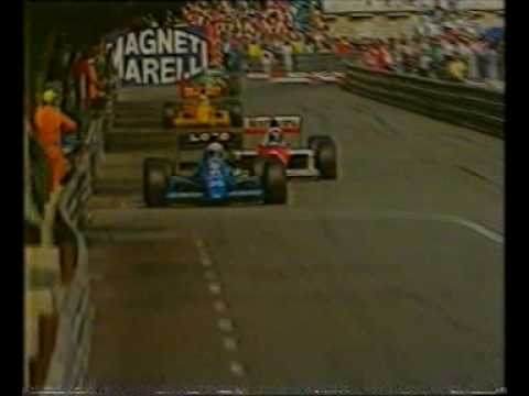 James Hunt swears during live BBC broadcast of 1989 Monaco Grand Prix