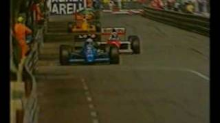 James Hunt swears during live BBC broadcast of 1989 Monaco Grand Prix