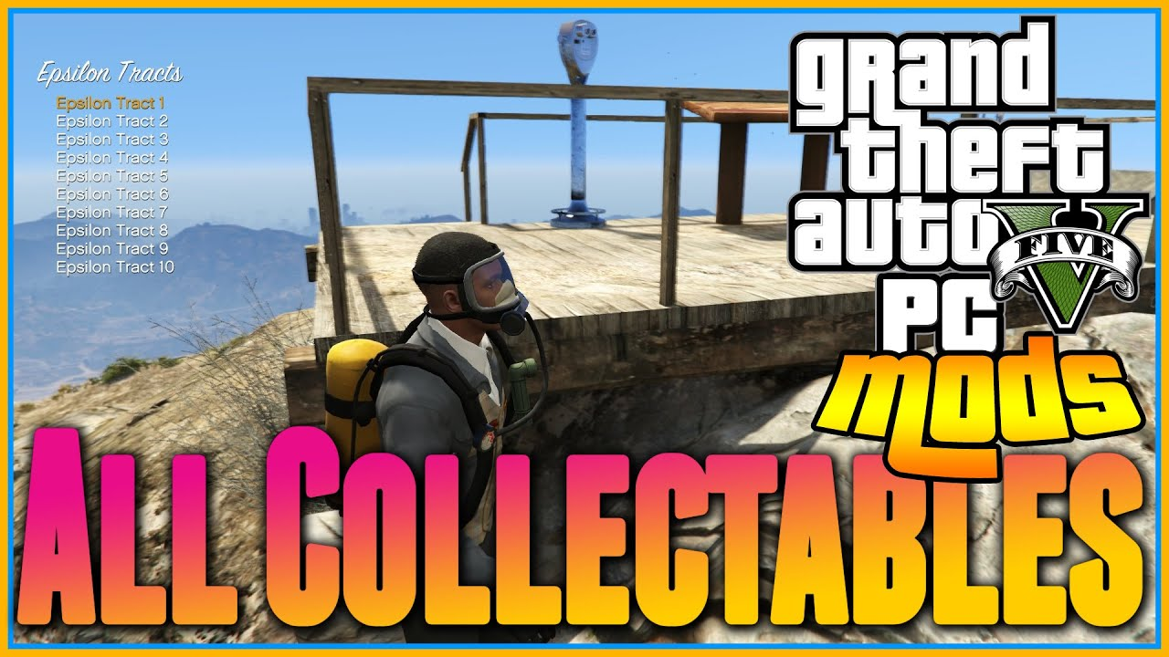 GTA 5 PC MODS - All Collectables MODS , Hidden Packages, Peyotes, Stunt  Jumps, Letter Scraps