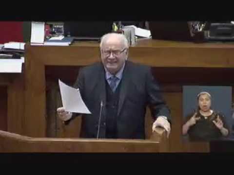 Intervención Diputado José Miguel Ortiz en homenaje a los 98 Años de la  Universidad de Concepción