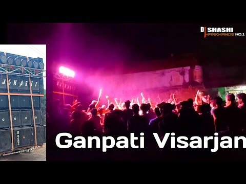 Ganpati Visarjan in Telo ..with DJ SHASHI