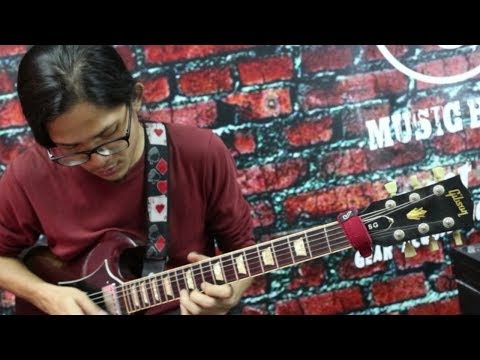 FINDING MALAYSIA'S NEXT GUITAR HERO: Guthrie Govan Wonderful Slippery Thing Cover featuring Zairul