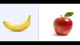 ازاي اعلم ابني ان يميز بين الموز والتفاح