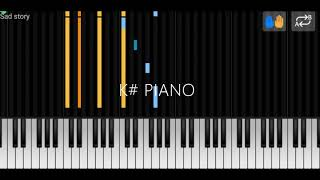 Merk & Kremont - Sad Story (out of luck) Piano tutorials/version / relaxing/sad piano music