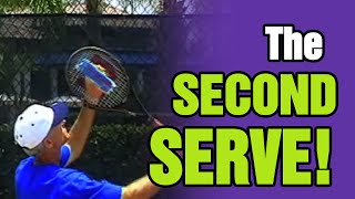 Tennis Serve - You're Only As Good As Your Second Serve
