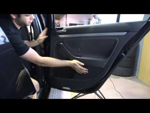 VW GTI MK5 4 Door LED Puddle Light DIY - USP Motorsports
