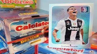 CRISTIANO RONALDO SPECIALE EXTRA   APERTURA GIFT BOX DELUXE CALCIATORI FIGURINE 2018-2019 PANINI