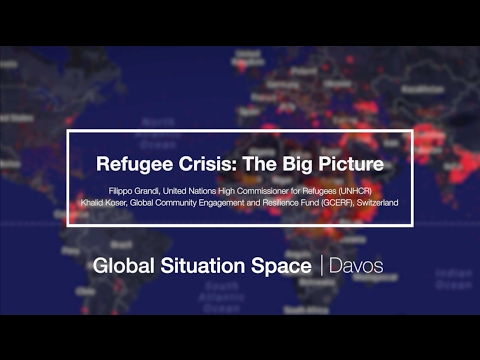 The Refugee Crisis with Filippo Grandi and Khalid Koser